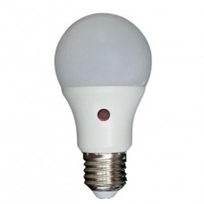 Λάμπα led ημέρας νύχτας E27 10W 4000K ενδιάμεσο φυσικό λευκό φως με φωτοκύτταρο A60 κοινή τύπου αχλάδι 900lumens 180°