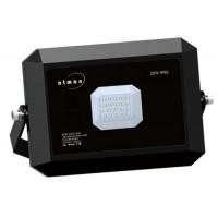 Προβολέας led 30W smd πράσινο φώς για κήπους extra slim τύπου tablet αλουμινίου χρώματος μαύρο στεγανός αδιάβροχος IP65 265V AC