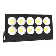Προβολέας led 500W γηπέδων υψηλής φωτεινότητας ψυχρό λευκό φως 6000Κ smd slim 72cm x 40cm 55000lumens στεγανός αδιάβροχος IP65 180-265V AC