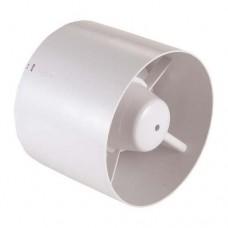 Εξαεριστήρας μπάνιου λουτρού (τουαλέτας) σωληνωτός Φ10 12W λευκός 220V με ροή αέρα 130m3/h