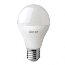 Λάμπα led 10W 12V 24V 2800K θερμό λευκό φως χαμηλής τάσης ντουί Ε27 Α60 τύπου αχλάδι 810lumens 330°