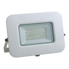 Προβολέας led 50W smd ενδιάμεσο λευκό φώς 4000Κ extra slim 22,7cm x 18,5cm τύπου tablet αλουμινίου λευκό σώμα στεγανός αδιάβροχος IP65 4750lumens