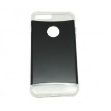 ΘΗΚΗ iPHONE 7 PLUS ΚΙΝΗΤΟΥ ΤΗΛΕΦΩΝΟΥ ΠΛΑΣΤΙΚΗ XCOVER DUO TPU ΧΡΩΜΑΤΟΣ ΜΑΥΡΟ