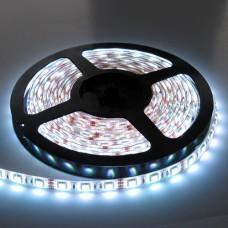 Led ταινία 16W 12V DC ύπερ υψηλής φωτεινότητας ψυχρό λευκό φως 6500Κ αδιάβροχη στεγανή IP65 εύκαμπτη αυτοκόλλητη