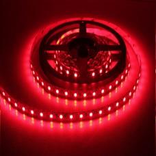 Ταινία Led 6W 12V DC κόκκινο φως μη στεγανή IP20 εύκαμπτη αυτοκόλλητη 120°