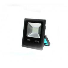 ΠΡΟΒΟΛΕΑΣ LED SMD 20W (20WATT) ΘΕΡΜΟ ΛΕΥΚΟ 3000Κ ΣΤΕΓΑΝΟΣ IP65 1800 lumens 85V-265V AC