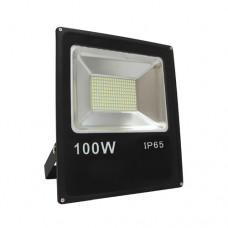 ΠΡΟΒΟΛΕΑΣ LED SMD 100W (100WATT) ΘΕΡΜΟ ΛΕΥΚΟ 3000Κ ΣΤΕΓΑΝΟΣ IP65 9000 lumens 85V-265V AC