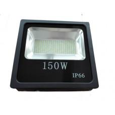 ΠΡΟΒΟΛΕΑΣ LED SMD 150W (150WATT) ΘΕΡΜΟ ΛΕΥΚΟ 3000Κ ΣΤΕΓΑΝΟΣ IP65 13500 lumens 85V-265V AC