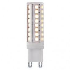 ΛΑΜΠΑ LED G9 6W (ΑΠΟΔΟΣΗ 60W) ΘΕΡΜΟ ΛΕΥΚΟ ΦΩΣ 3000Κ 240V SMD 480 lumens