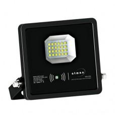 Προβολέας led smd με φωτοκύτταρο - ανιχνευτή κίνησης 20w (20 watt) super slim τύπου taplet ψυχρό λευκό φως 6000Κ αλουμινίου στεγανός IP66 2200lumen