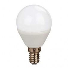 Λάμπα led σφαιρική μπαλάκι E14 4w θερμό λευκό φως 2800κ 330° 320lumen