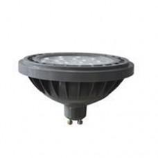 Λάμπα led AR111 GU10 220V 11,5W επαγγελματική ενδιάμεσο λευκό φως 4000K στενή δέσμη 24° 1200lumen