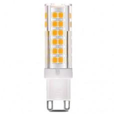Λάμπα led 5W G9 θερμό λευκό φως 3000Κ κεραμική 230V AC 4,8cm 380lumen