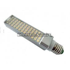 ΛΑΜΠΑ LED 10W (ΑΠΟΔΟΣΗ 100W) PL E27  220-240V ΛΕΥΚΟ 4000Κ