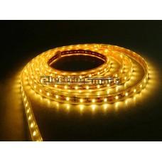LED ΤΑΙΝΙΑ 12VDC 7,2W/m LED5050 ΑΔΙΑΒΡΟΧΗ (ΣΤΕΓΑΝΗ) IP54 ΕΥΚΑΜΠΤΗ ΑΥΤΟΚΟΛΛΗΤΗ ΚΙΤΡΙΝΗ