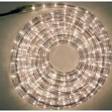 Φωτοσωλήνας 10 μέτρα στρόγγυλος με 36 λαμπάκια ανά μέτρο λευκά σε blister (έτοιμη συσκευασία) και πρόγραμμα στεγανός IP44