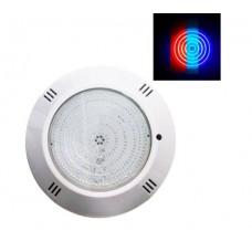 ΦΩΤΙΣΤΙΚΟ ΠΙΣΙΝΑΣ LED 18W ΣΠΟΤ ΕΠΙΤΟΙΧΟ (ΕΞΩΤΕΡΙΚΟ) ΣΤΡΟΓΓΥΛΟ ΛΕΥΚΟ 120° ΣΤΕΓΑΝΟ IP68 12VAC RGB (ΠΟΛΥΧΡΩΜΟ ΦΩΣ)