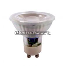5W ΛΑΜΠΕΣ LED COB GU10 220-240V (ΘΕΡΜΟ-ΨΥΧΡΟ)