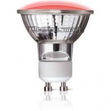 ΛAMΠA LED BULBS GU10 (ΣΠΟΤ) 1.5W  240V ΚΟΚΚΙΝΟ (RED) ΦΩΣ