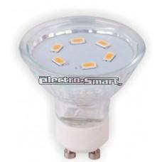 3W ΛΑΜΠΕΣ LED SMD (ΜΕΓΑΛΥΤΕΡΗ ΔΕΣΜΗ ΦΩΤΟΣ) GU10 220-240V (ΘΕΡΜΟ-ΨΥΧΡΟ)